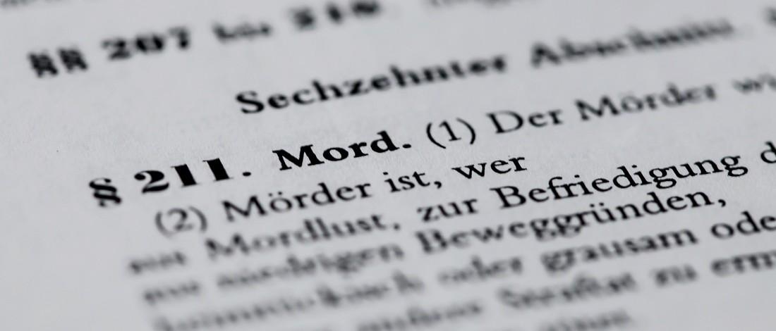 Mord Strafrecht StGb